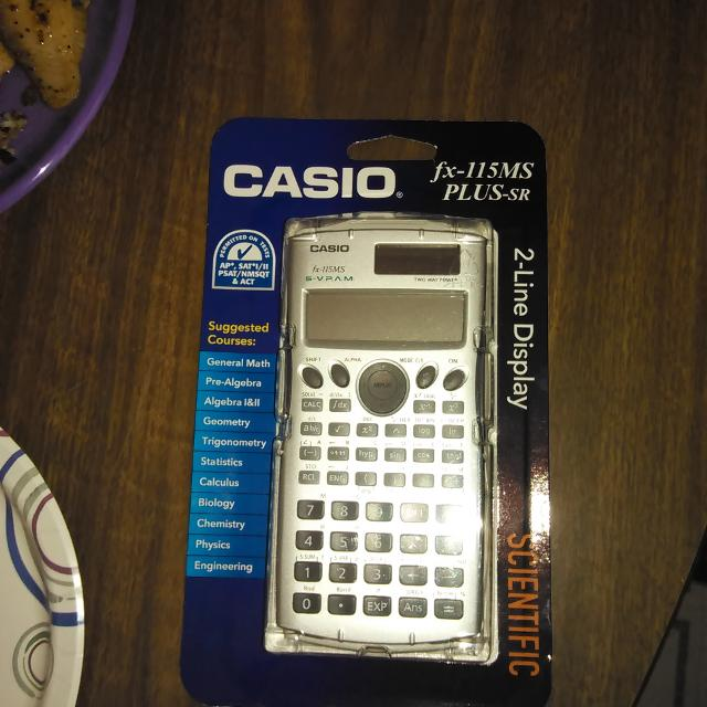 find more casio fx 115ms plus sr scientific calculator for sale at