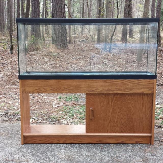 Best 55 Gallon All Glass Aquarium W Oak Stand For Sale In Canton Georgia 2019