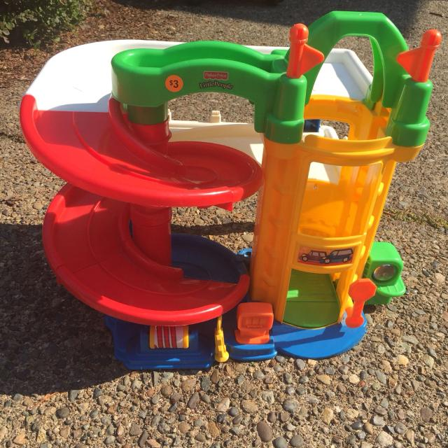 Find More Fisher Price Little People Car Elevator Ramp For Sale At