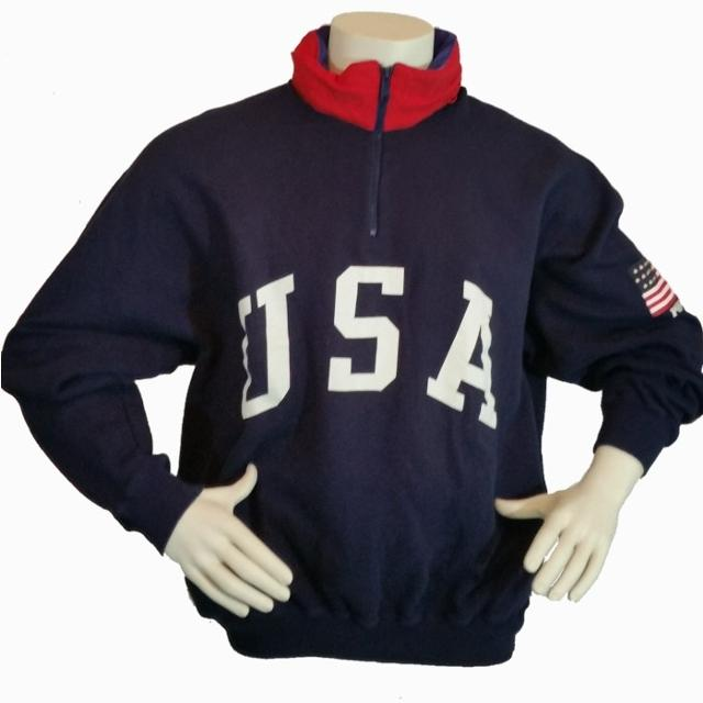 Shop Olympic Team USA Gear at the Official Team USA Store The Team USA Shop is the official store for US Olympic Apparel. We even have a new selection of Team USA fan gear, Los Angeles shirts and Team USA Paralympics Apparel so you can train with the same apparel as your favorite athletes.