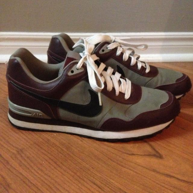 buy popular 19c2b 5a593 Best Rare Retro Nike Air Max Running Shoes. Mens Size 9.5. Burgundy,black  And Grey. Collectors Shoe. Great Condition. for sale in The Beaches, ...