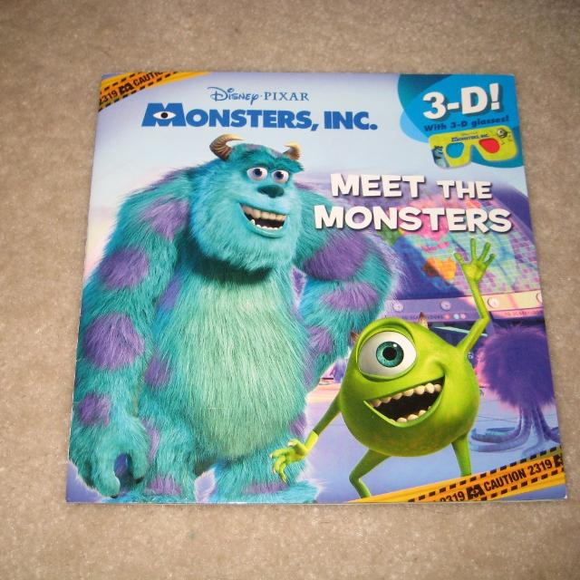 Best Disney Monster Inc Book For Sale In Ashburn Virginia For 2020