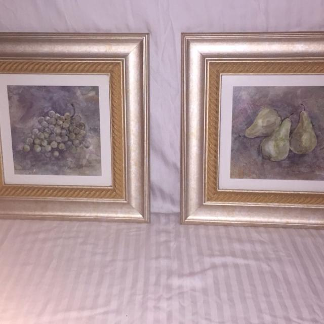 Find more Beautiful Wall Decor Grapes And Pears. Looks Very Good In ...