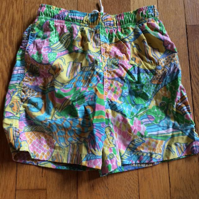 6f026e55f0 Find more Boys Lilly Pulitzer Swim Trunks Size Small 4-5, Guc for ...