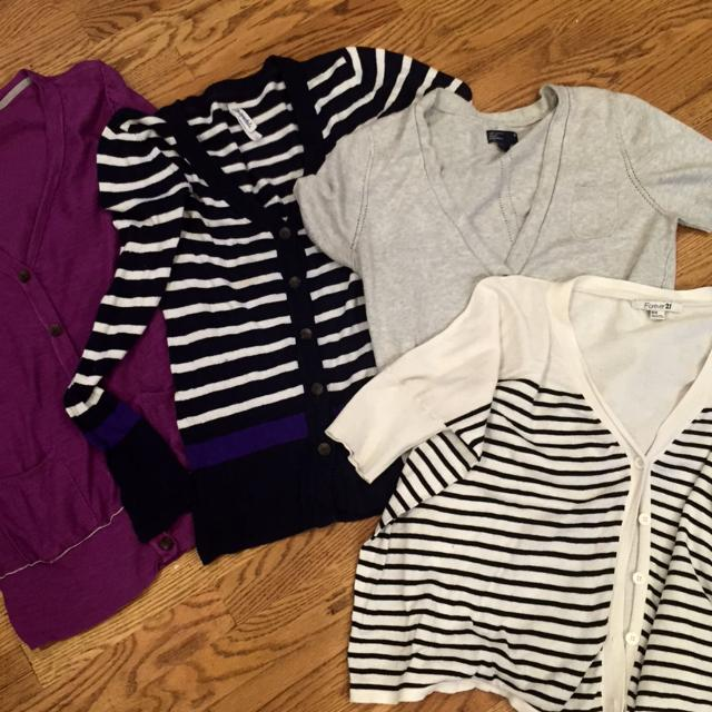cda529745 Find more 2 Long Sleeve Sweaters L From Aeropostale 1 Short Sleeve ...