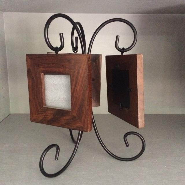 Decorative 3 Frame stand