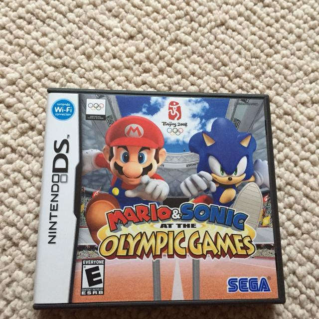 Mario & Sonic Nintendo DS game cartridge with Case $10 Germantown Porch  PickUp- Non-smoking household - cross posted