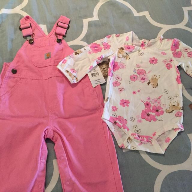 ca82db9a3 Find more Brand New With Tags Carhartt Baby Girl Outfit 9 Months for ...