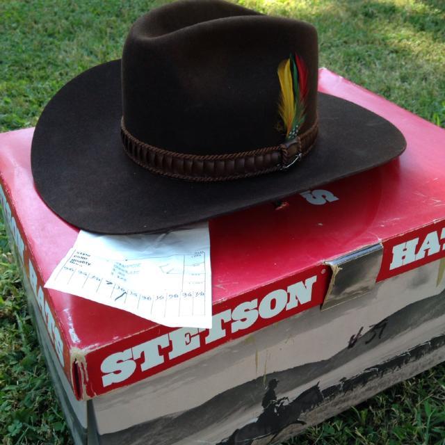 Best Vintage Stetson Stampede 3x Beaver Fur Hat for sale in Nashville 942a0d34fa3