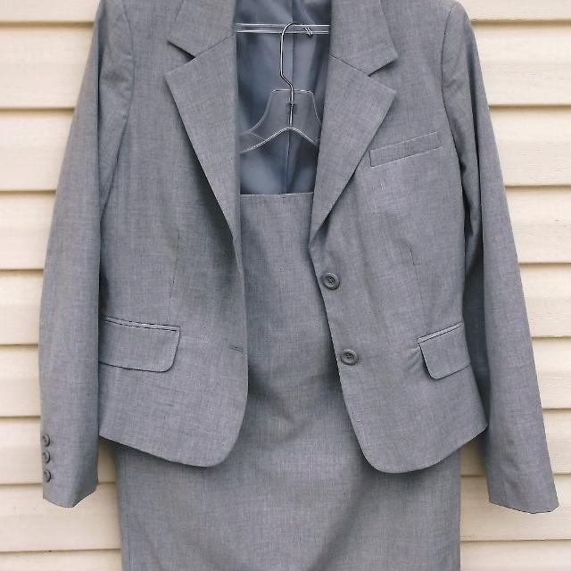 46d15be324 Best Light Gray Lined Merona Skirt & Suit Jacket Set Nwot for sale in  Warsaw, Indiana for 2019