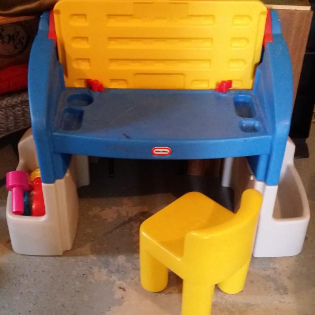 Find more Little Tikes Desk With Chair, Storage And Built-in Light ...