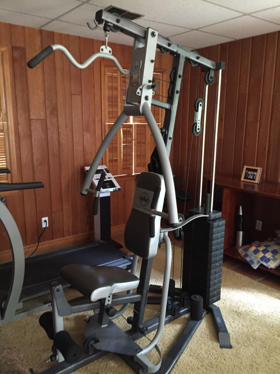 Find more marcy platinum mp home gym like new barely