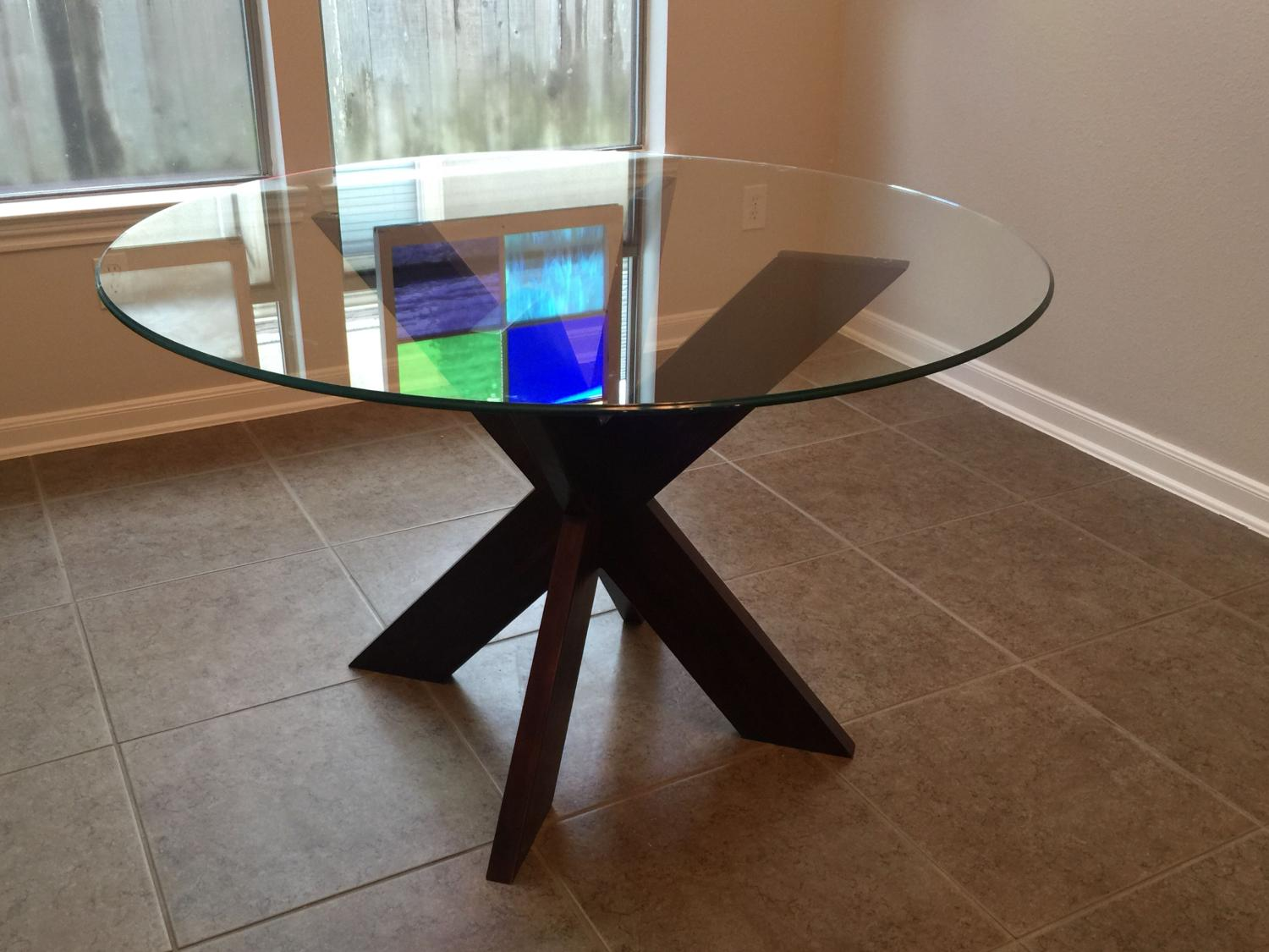 Find More Pier 1 Espresso Simon X Dining Table For Sale At Up To 90 Off