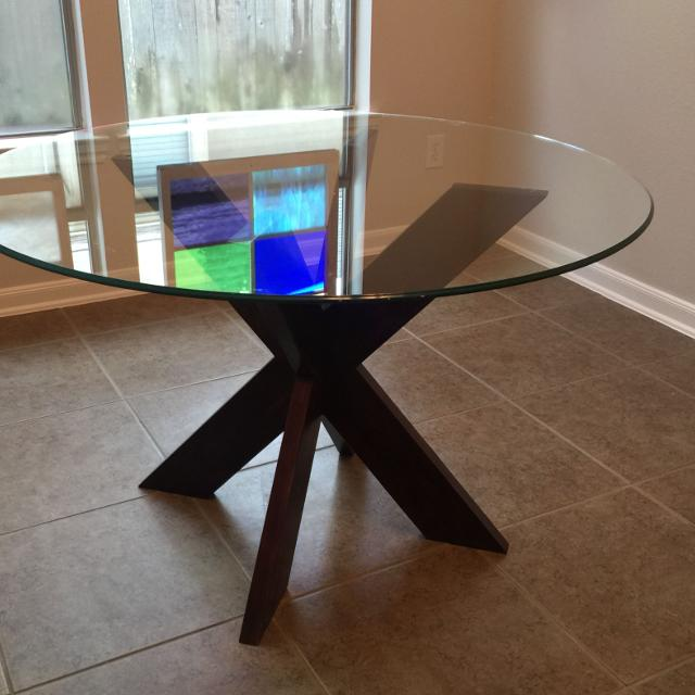 Find more pier 1 espresso simon x dining table for sale at for Table x reviews