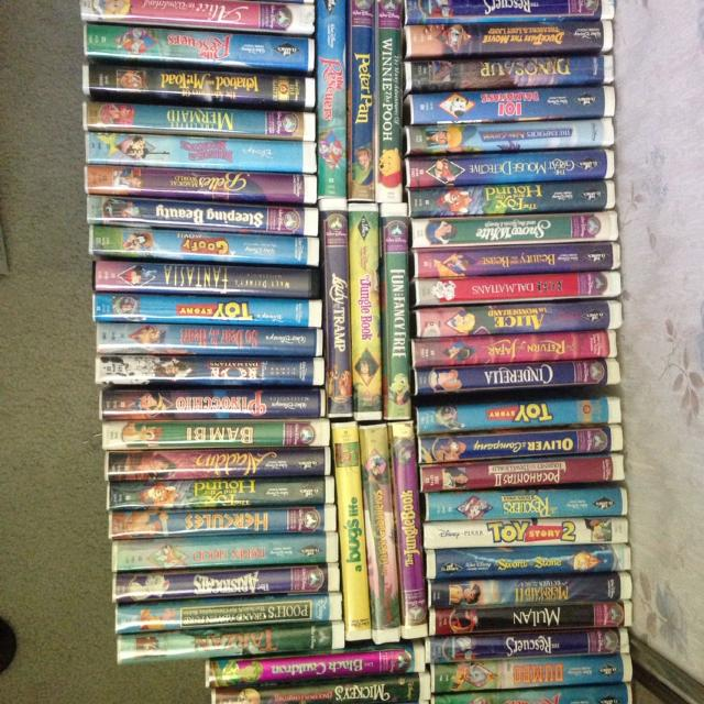 Best 44 Disney Vhs The Last Two Pictures Are What S Left