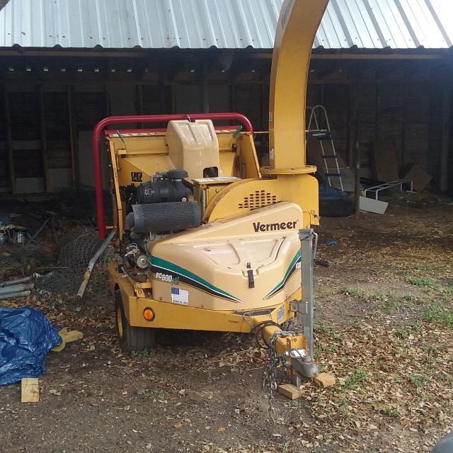 Vermeer bc600 xl wood chipper 7500 obo