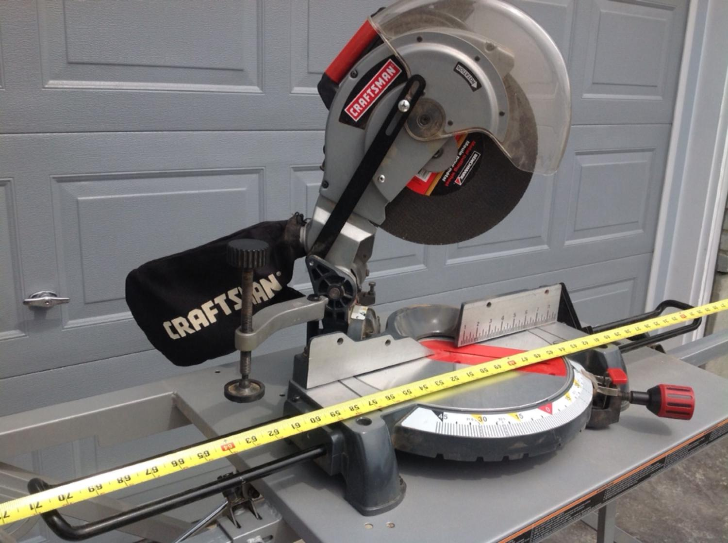 Best Craftsman 10 Inch Compound Miter Saw For Sale In