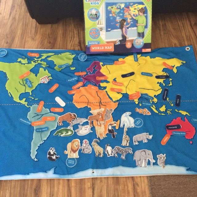 Find more Discovery Kids World Map for sale at up to 90% off