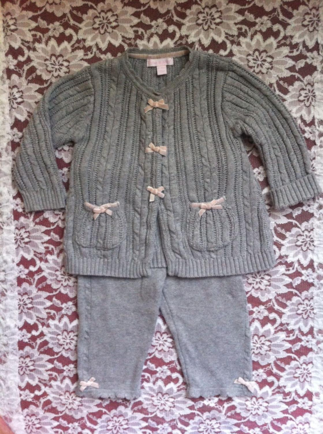 a87f2d5b4 Best Euc 2 Piece Gray Cable Knit Sweater W/matching Knit Pants By Dylan &  Abby. Size 6/9 Months. Beautiful Set for sale in Philadelphia, Pennsylvania  for ...