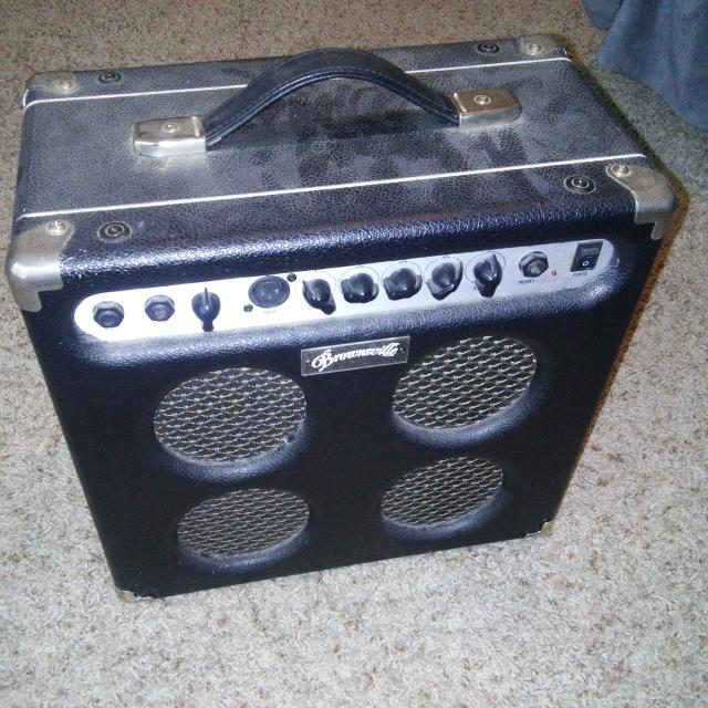 Brownsville B-30A guitar amp (missing power cord)