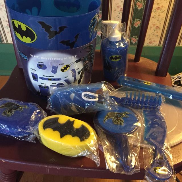 Batman Bathroom Set. Find more Batman Bathroom Set for sale at up to 90  off