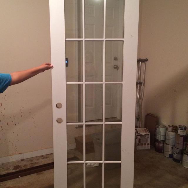 Find More Brand New 15 Panel Exterior Door Ready To Be Installed