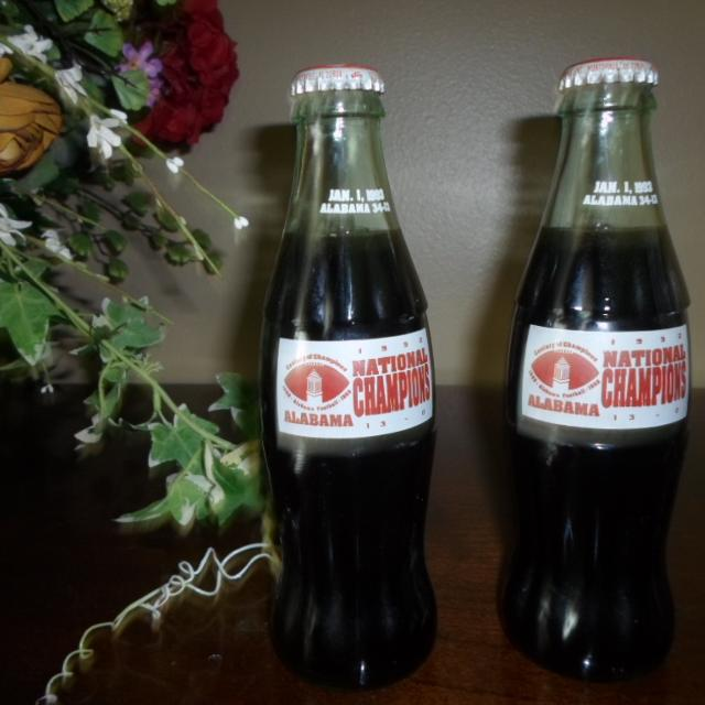 Ups Saraland Al: Best Alabama National Champions Coke Bottles For Sale In