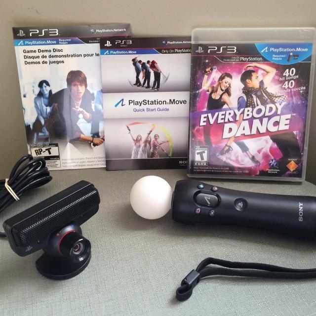 Original new move bundle motion controller + usb eye camera for.