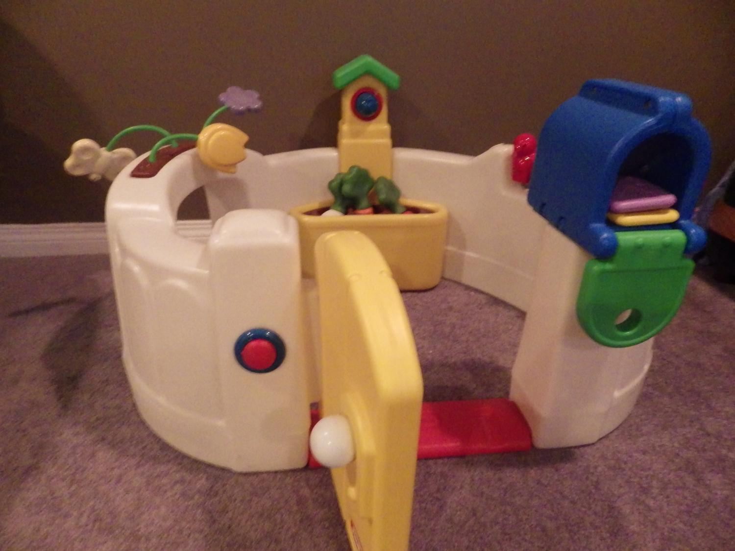 Find more Little Tikes Vegetable Garden Activity Center for sale at ...