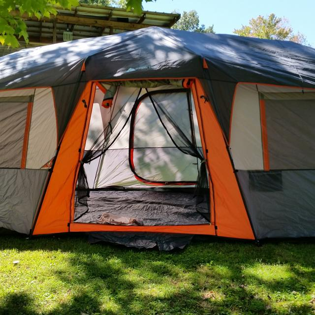 newest cc2c1 70bfd Instant pop up tent 20 by 10 12 person tent
