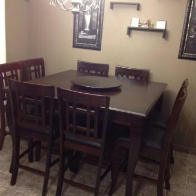 8 Seater Pub Style Dining Table