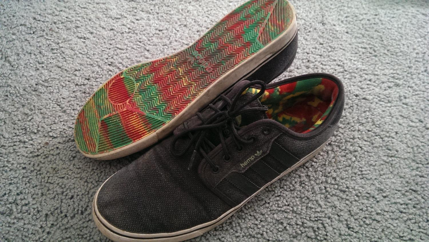 wholesale dealer f7b69 dcc7f Best Adidas Hemp Rasta Shoes for sale in North Delta, British Columbia for  2019