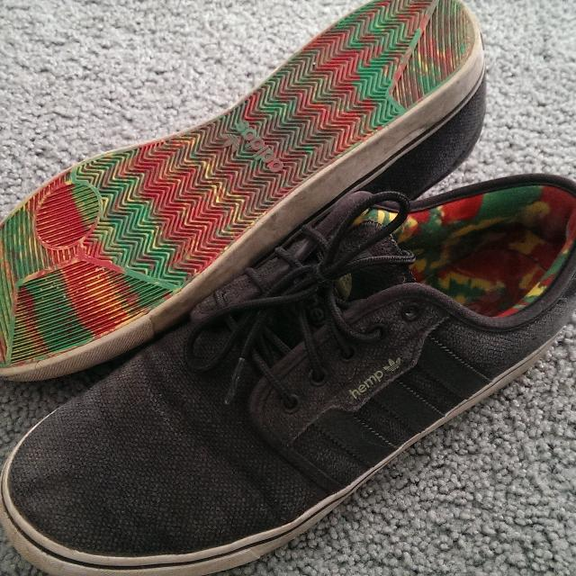 a0fc1cdd4a4c Best Adidas Hemp Rasta Shoes for sale in North Delta