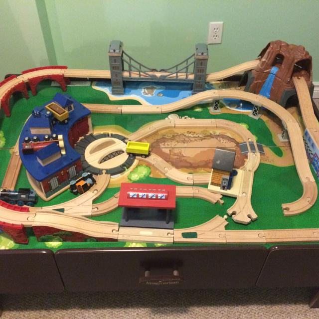 Find more Imaginarium Mountain Rock Train Table. for sale at up to ...