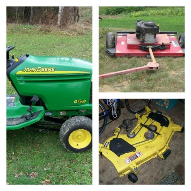 481ad536a2ddb Best John Deere Gt235 Mower And Accessories for sale in Aroostook County
