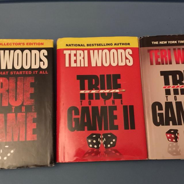 Find More Terri Woods True To The Game Trilogy All 3 Books 5 00 For Sale At Up To 90 Off
