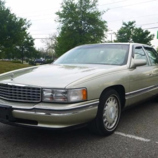 Cadillac 500 For Sale: Best 1996 Cadillac Sedan Deville In Silver With The L37