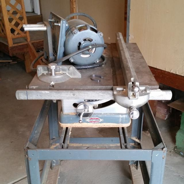 Find More Vintage Craftsman 10 Table Saw For Sale At Up To 90 Off Erie Pa