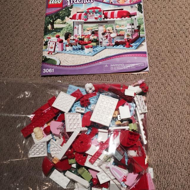 Find More Lego Friends 3061 City Park Cafe Instructions And All