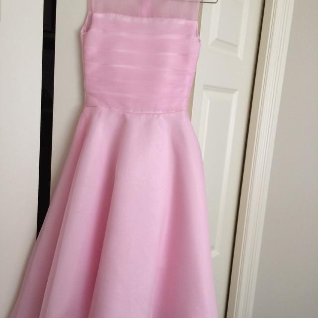 794c21f3b Best Reduced. Long Flower Girl/junior Bridesmaid Dress. Size 9/10 Make Me  An Offer for sale in Duncan, British Columbia for 2019