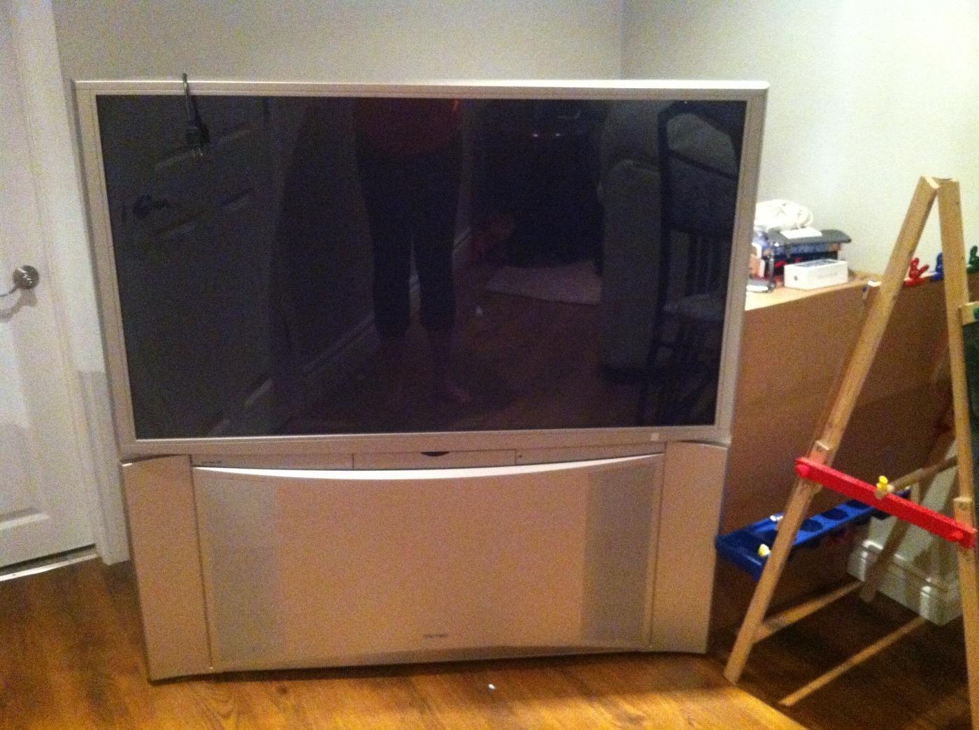 hitachi projection tv user manual