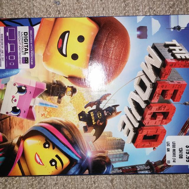 Find More New Lego Movie Dvd For Sale At Up To 90 Off