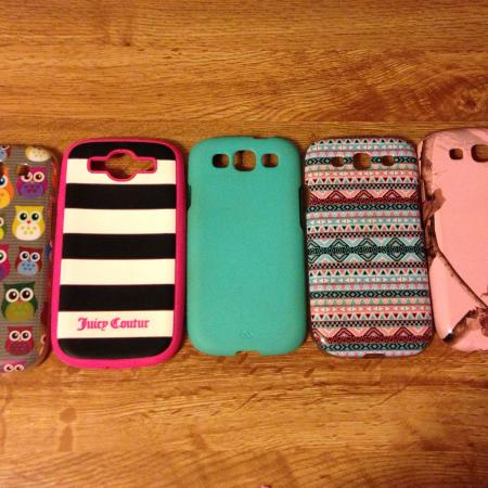 Used, Samsung Galaxy S3 phone cases. 5$ for... for sale  Canada