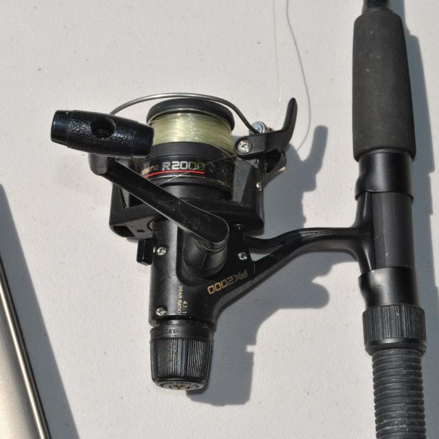 Shimano medium-action rod and reel