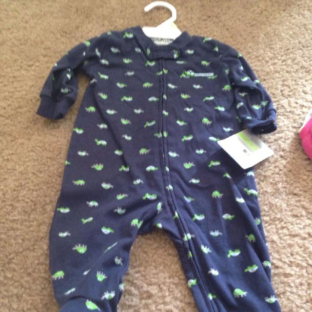 84b4b7393 Find more Carter s Sleeper Newborn I Love Mommy Turtles Navy Blue ...