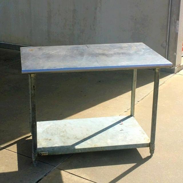 Find More Rapid Rack Industries X Stainless Steel Work Table - Stainless steel work table 30 x 48