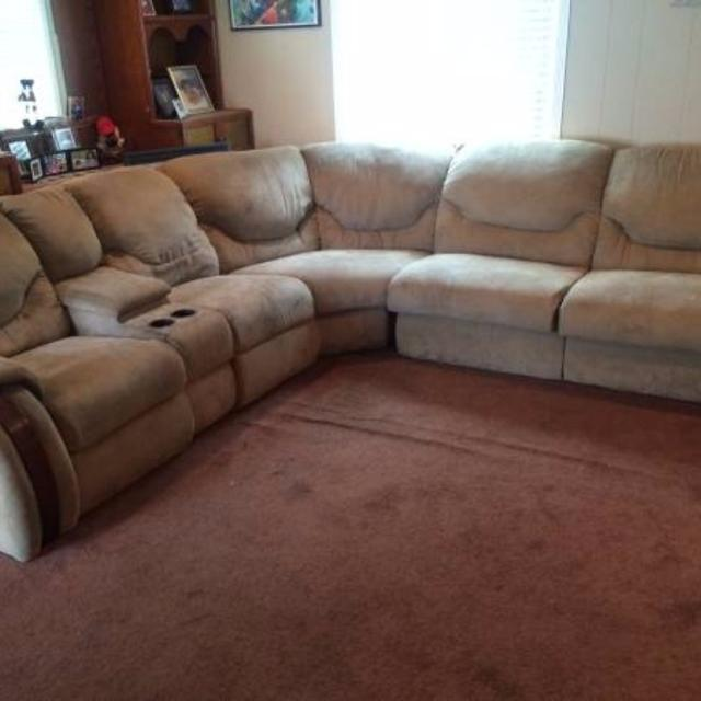 Sectional Couch With Two Recliners And Pull Out Bed