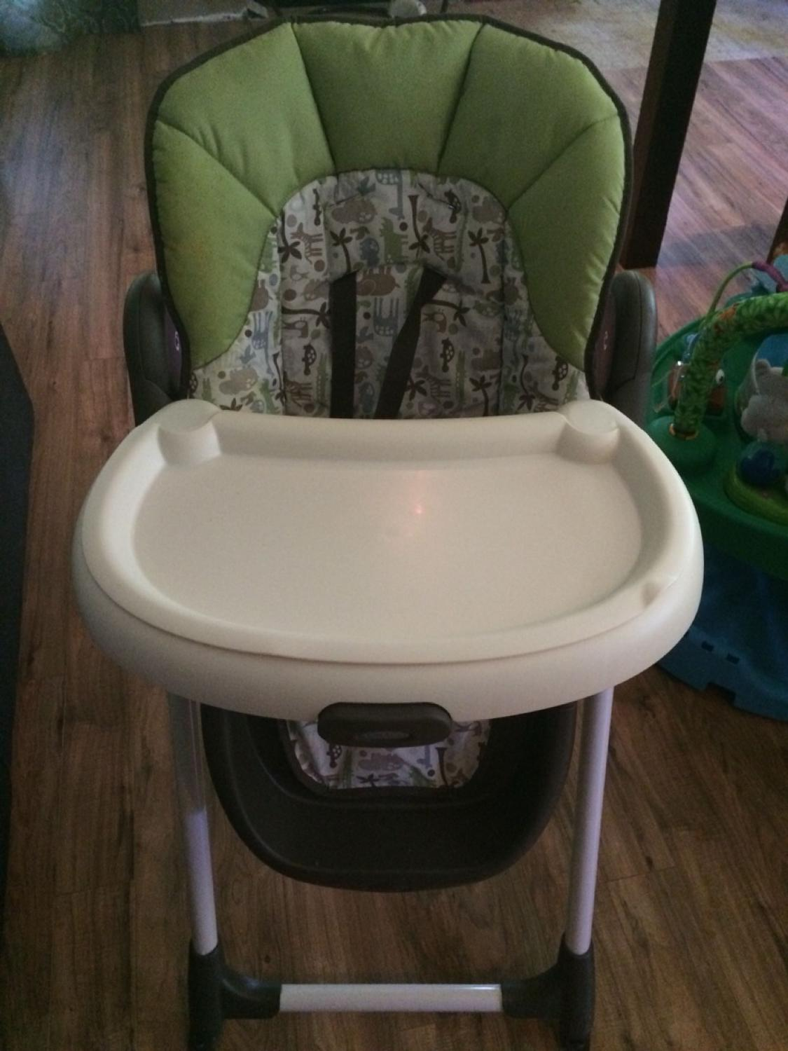 Graco meal time high chair - Find More Graco Meal Time High Chair Zoofari For Sale At Up To 90 Off Sarnia On