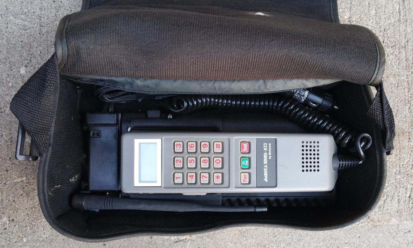 pretty nice 7ffee b3ece Motorola Bag Phone MS 833 America Series Cell Phone