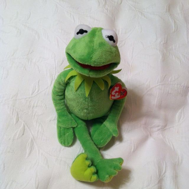 Find more Beanie Baby Kermit The Frog for sale at up to 90% off a89dfd1a0b4